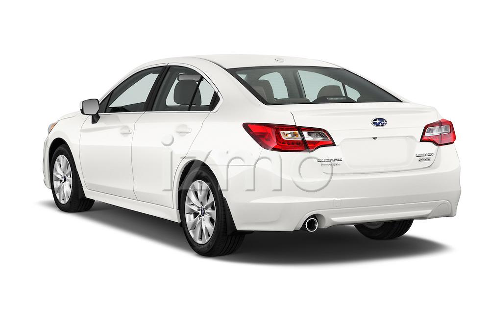 Car pictures of rear three quarter view of a 2015 Subaru Legacy 2.5i Premium 4 Door Sedan Angular Rear