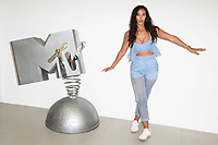 "Maya Jama<br /> at launch photocall for MTV's ""True Love or True Lies?"", London<br /> <br /> ©Ash Knotek  D3417  07/08/2018"