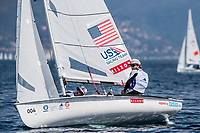 Genoa, Italy is hosting sailors for the third regatta of the 2019 Hempel World Cup Series from 15-21 April 2019. More than 700 competitors from 60 nations are racing across eight Olympic Events.©JESUS RENEDO/SAILING ENERGY/WORLD SAILING<br /> 18 April, 2019.