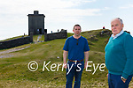 Members of the Valentia Island Development Company welcome An Board Pleanála decision to allow the development of the Look Out Tower at Bray Head on Valentia Island, pictured here l-r; Colum O'Connell(Secretary VIDCo) & Micheal Lyne(Chairman VIDCo).