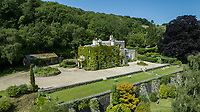 BNPS.co.uk (01202) 558833<br /> Pic: KnightFrank/BNPS<br /> <br /> A historic English country estate with a French chateau feel and royal connections is on the market for £5.5m.<br /> <br /> The site of Grade II listed Yarner House was once governed by William the Conqueror, mentioned in the Domesday Book and a popular hunting site in Tudor times.<br /> <br /> The seven-bedroom house sits in a 247-acre estate on the edge of Dartmoor National Park and has stunning views over the surrounding landscape, including Yarner Wood.<br /> <br /> The ancient woodland was once part of the property until 1952 when it was sold to the Nature Conservancy to become one of the first national nature reserves.<br /> <br /> Where the current Yarner House is built, it is thought to have had a hunting lodge in Tudor times, with connections to Henry VII, Henry VIII, Edward VI and Queen Mary.