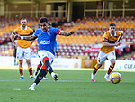 27.09.2020 Motherwell v Rangers:  James Tavernier scores from the penalty spot