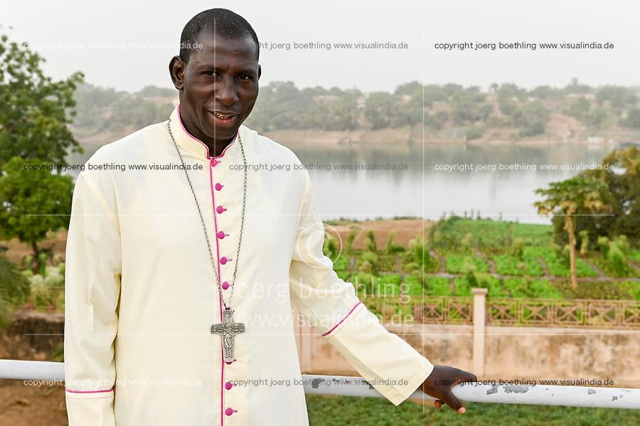 MALI, Kayes, katholische Kirche, Vorsitzender der katholischen Bischofskonferenz von Mali und Bischof von Kayes, Msgr. Jonas Dembele
