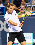 Richard Gasquet (FRA) dispatched Kei Nishikori (JPN) in a swift 61 64 at the Citi Open in Washington, DC on August 1, 2014.