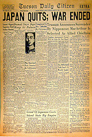 Old Tucson Citizen front page
