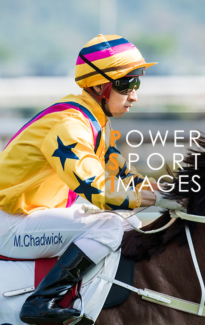 Jockey Matthew Chadwick riding Winner's Way in the Race 3, Flying Dancer Handicap, during the Longines Hong Kong International Races at Sha Tin Racecourse on December 10 2017, in Hong Kong, Hong Kong. Photo by Victor Fraile / Power Sport Images