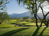 View of Golf Course with beautiful mountain backdrop