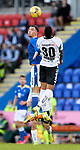 St Johnstone v Lask…26.08.21  McDiarmid Park    Europa Conference League Qualifier<br />Michael O'Halloran and Andres Andrade<br />Picture by Graeme Hart.<br />Copyright Perthshire Picture Agency<br />Tel: 01738 623350  Mobile: 07990 594431
