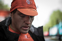 Greg Van Avermaet (BEL/CCC) post race. <br /> <br /> 105TH Liège-Bastogne-Liège 2019 (1.UWT)<br /> 1 Day Race Liège-Liège  (256km)<br /> <br /> ©kramon
