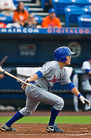 Logan Watkins #5 of the Daytona Cubs during game 3 of the Florida State League Championship Series against the St. Lucie Mets at Digital Domain Park on Spetember 11, 2011 in Port St. Lucie, Florida. Daytona won the game 4-2 to win the Florida State League Championship.  Photo by Scott Jontes / Four Seam Images