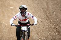29th August 2021; Commezzadura, Trentino, Italy; 2021 Mountain Bike Cycling World Championships, Val di Sole; Downhill; Downhill final men, Danny Hart (GBR)