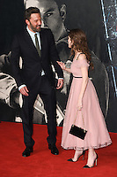 """Ben Affleck and Anna Kendrick<br /> at the premiere of """"The Accountant"""" at the Empire Leicester Square, London.<br /> <br /> <br /> ©Ash Knotek  D3183  17/10/2016"""