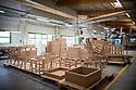 19/06/19 - MONTAGNIEU - AIN - FRANCE - Entreprise Roset, fabricant de mobiliers haut de gamme dont le celebre canape TOGO cree par le designer Michel DUCAROY - Photo Jerome CHABANNE