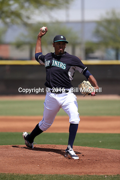 Edwin Diaz - Seattle Mariners 2016 spring training (Bill Mitchell)