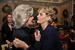 MARINA CICOGNA E ANSELMA DALL'OLIO<br /> FESTA DEGLI 80 ANNI DI MARTA MARZOTTO<br /> CASA CARRARO ROMA 2011