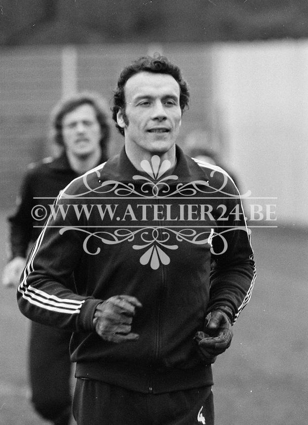 1977. RSC Anderlecht. Jan Ruiter.