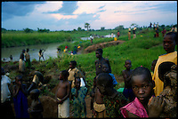 Near Gulu, Northern Uganda, June 2005.More than 1 500 000 people have been displaced to IDP camps and are living in dreadful conditions for the last 19 years.