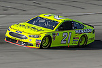 Monster Energy NASCAR Cup Series driver Paul Menard (21) in action during the Monster Energy NASCAR Cup Series, AAA Texas 500, race at the Texas Motor Speedway in Fort Worth,Texas.