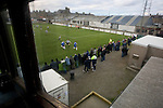 Fraserburgh 2 Strathspey Thistle 2, 06/11/2010. Bellslea Park, Highland League. Spectators in front of the main stand watching the action at Bellslea Park, during Fraserburgh's Highland League fixture against visitors Strathspey Thistle (in blue). Nicknamed 'The Broch,' Fraserburgh have been members of the Highland League since 1921 having been formed 11 years earlier. The match ended in a 2-2 draw in front of a crowd of 302. Photo by Colin McPherson.