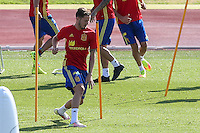 Spanish Saul Iniguez during the second training of the concentration of Spanish football team at Ciudad del Futbol de Las Rozas before the qualifying for the Russia world cup in 2017 August 30, 2016. (ALTERPHOTOS/Rodrigo Jimenez) /NORTEPHOTO