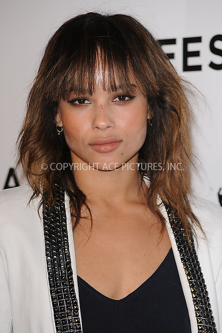WWW.ACEPIXS.COM . . . . . .April 20, 2011...New York City...Zoe Kravitz attends the opening night premiere of 'The Union' at the 2011 Tribeca Film Festival at World Financial Center Plaza on April 20, 2011 in New York City.....Please byline: KRISTIN CALLAHAN - ACEPIXS.COM.. . . . . . ..Ace Pictures, Inc: ..tel: (212) 243 8787 or (646) 769 0430..e-mail: info@acepixs.com..web: http://www.acepixs.com .