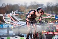 Laurens Sweeck (BEL/Pauwels Sauzen-Bingoal)<br /> <br /> CX Belgian Nationals 2021<br /> <br /> Elite Men's Race<br /> Belgian National CX Championships<br /> Meulebeke 2021<br /> <br /> ©Kramon