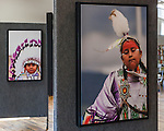 Powwow Show - Wheatgrass Saloon - Livingston MT (Gallery Wrapped Canvas Prints in a floating frame)