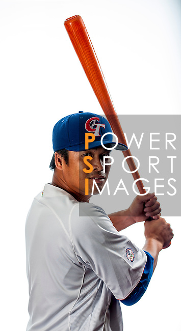 Chang, Chien-Ming of Team Chinese Taipei poses during WBC Photo Day on February 25, 2013 in Taichung, Taiwan. Photo by Victor Fraile / The Power of Sport Images