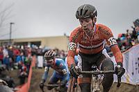 Lars van der Haar (NED/Telenet-Fidea)<br /> <br /> Elite Men's Race<br /> UCI 2017 Cyclocross World Championships<br /> <br /> january 2017, Bieles/Luxemburg
