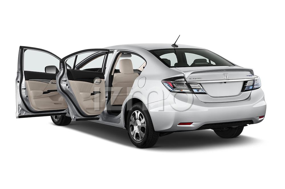 Car images of a 2014 Honda Civic Hybrid Hybrid CVT 4 Door Sedan Doors