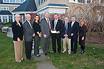 2012 Insurance Executives check presentation on Monday, December 3, 2012.