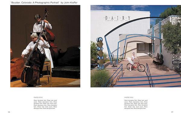 """Boulder, Colorado: A Photographic Portrait"" by John Kieffer. <br /> Custom photo tours of Boulder."