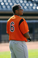 July 10th 2008:  Jonathan Tucker of the Bowie Baysox, Class-AA affiliate of the Baltimore Orioles, during a game at Canal Park in Akron, OH.  Photo by:  Mike Janes/Four Seam Images