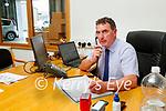 Padraig McCarthy at Randles brothers, Nissan dealers in Tralee.