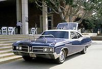 Cars: Philip Garner Nautical Buick, 3/4 elevation.  UCLA Symposium 1988.