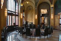 Europe/République Tchèque/Prague: La Maison Municipale-Edifice Art Nouveau qui se dresse  à l'emplacement de l'ancien Palais Royal - détail d'un salon