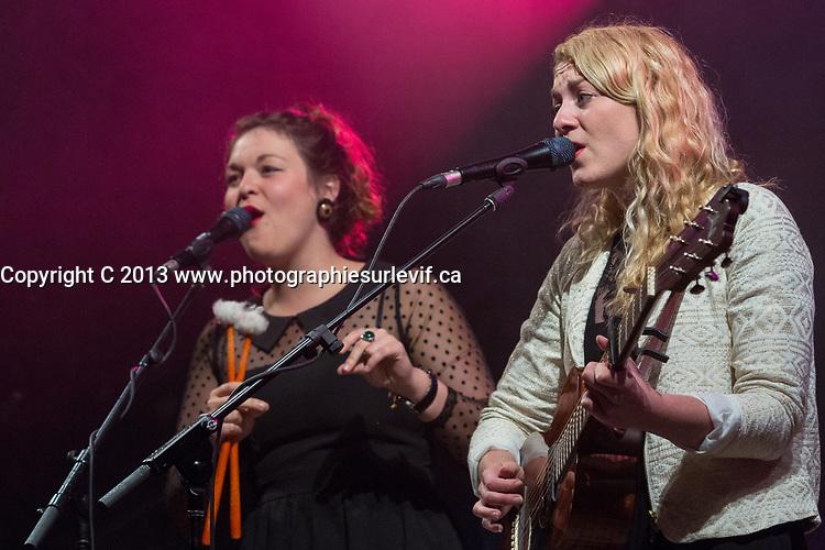 Les soeurs Boulay, <br /> 2013