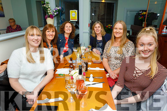 Lydia Lawlor from Ballyduff celebrating her birthday in Sforno on Friday. L to r: Elaine Gilltrap, Betty Culloty, Marie Lawlor, Helen Brazil, Lydia Lawlor and Corina Brazil.