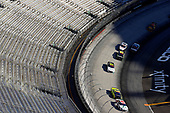 BRISTOL, TENNESSEE - JUNE 01: Harrison Burton, driver of the #20 DEX Imaging/Fields Toyota, and Brandon Jones, driver of the #19 Menards/Pelonis Toyota, lead the filed during the NASCAR Xfinity Series Cheddar's 300 presented by Alsco at Bristol Motor Speedway on June 01, 2020 in Bristol, Tennessee. (Photo by Kevin C. Cox/Getty Images)