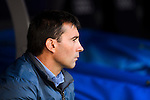Head coach Asier Garitano of Deportivo Leganes looks on prior to the La Liga match between Real Madrid and Deportivo Leganes at the Estadio Santiago Bernabéu on 06 November 2016 in Madrid, Spain. Photo by Diego Gonzalez Souto / Power Sport Images