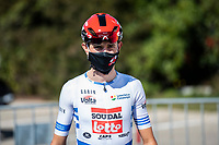 24th March 2021; Castelldefels, Catalonia, Spain; Volta Catalunya Cycling Tour stage 3 from Canal Olimpic de Catalunya to Vallter 2000; ANDREAS LORENTZ KRON of team LOTTO SOUDAL