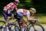 Richie Porte (AUS) Trek-Segafredo in action during Stage 10 of the 2019 Tour de France running 217.5km from Saint-Flour to Albi, France. 15th July 2019.<br /> Picture: ASO/Pauline Ballet | Cyclefile<br /> All photos usage must carry mandatory copyright credit (© Cyclefile | ASO/Pauline Ballet)