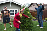 Nick and Melissa French spread holiday cheer with Christmas trees