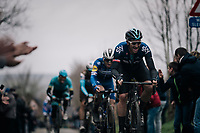 Ian Stannard (GBR/SKY) up the Oude Kwaremont<br /> <br /> 71th Kuurne-Brussel-Kuurne 2019 <br /> Kuurne to Kuurne (BEL): 201km<br /> <br /> ©kramon