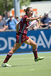 GER - Mannheim, Germany, May 27: During the women semi-final match between UHC Hamburg and Rot-Weiss Koeln at the Final4 tournament May 27, 2017 at Am Neckarkanal in Mannheim, Germany. (Photo by Dirk Markgraf / www.265-images.com) *** Local caption *** Jana Teschke #4 of Uhlenhorster HC Hamburg