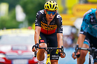 2nd July 2021; Le Creusot, France; VAN AERT Wout (BEL) of JUMBO-VISMA during stage 7 of the 108th edition of the 2021 Tour de France cycling race, a stage of 248,1 kms between Vierzon and Le Creusot