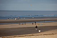 Europe/France/Nord-Pas-de-Calais/59/Nord/Malo-les-Bains: La plage   sur la Côte d'Opale