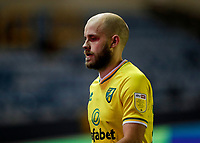 2nd February 2021; The Den, Bermondsey, London, England; English Championship Football, Millwall Football Club versus Norwich City; Teemu Pukki of Norwich City walking off the pitch towards the away tunnel after the final whistle in disappointment