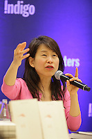 KIM THUY IN CONVERSATION AT INDIGO MONTREAL, WENESDAY APRIL 13, 2016.<br /> <br /> Kim Thuy is back with a new book, Vi, following her great successes with Ru, A toi and Man. The Quebec author has had her works published in more than twenty countries, winning many literary distinctions along the way and notably her victory at last year's Canada Reads competition and Ru's selection as a Heather's Pick<br /> <br /> PHOTO : Pierre Roussel - Agence Quebec Presse<br /> <br /> <br /> <br /> <br /> <br /> <br /> <br /> <br /> .