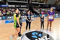 ANZ Premiership match between the Pulse and the Stars at Fly Palmy Arena, Palmerston North, New Zealand on Sunday 18 April 2021.<br /> Photo by Masanori Udagawa. <br /> www.photowellington.photoshelter.com